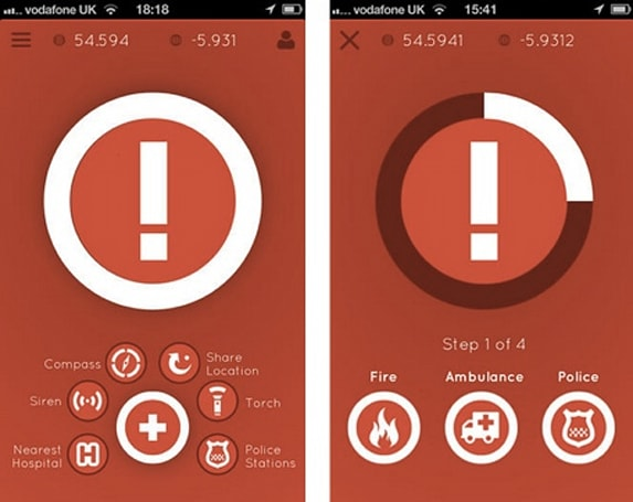 Daily iPhone App: Distress Signal alerts authorities when you are in trouble while traveling