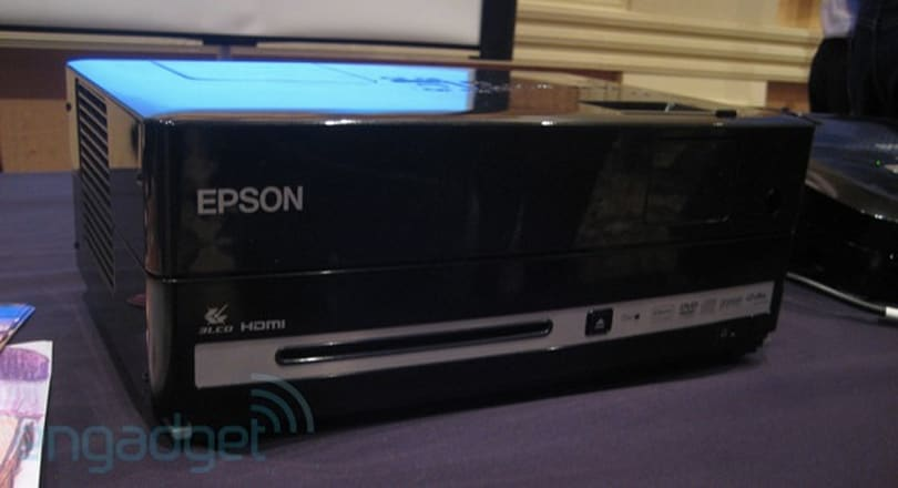 Epson MovieMate multimedia projector hands-on