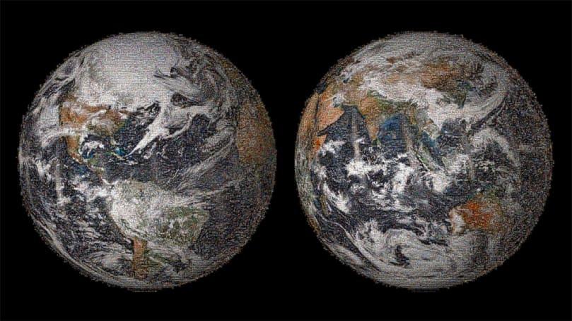 The Big Picture: NASA's 3.2-gigapixel global selfie