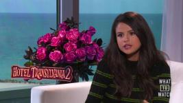 "Selena Gomez Discusses ""Hotel Transylvania 2"""