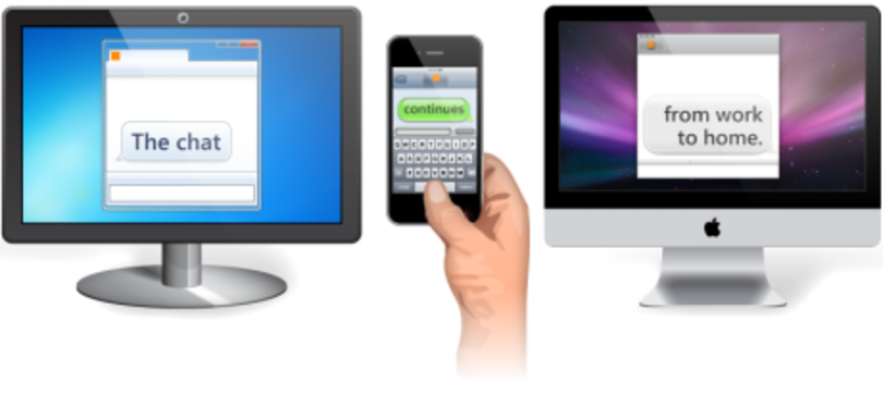 Trillian gets there first, brings Continuous Client features to latest build