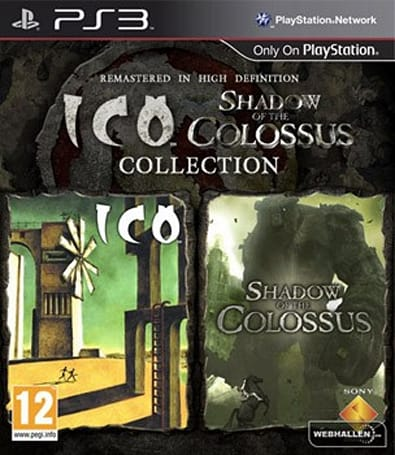 ICO / Shadow of the Colossus HD bundle pops up in another retail listing, with box art