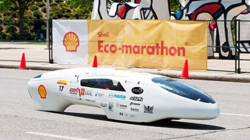Inhabitat's Week in Green: solar panel roads, floating golf, and the 2,564.8 MPG race car