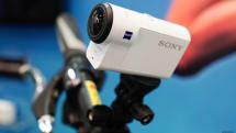 搭载光学防抖的新款索尼 Action Cam 动手玩