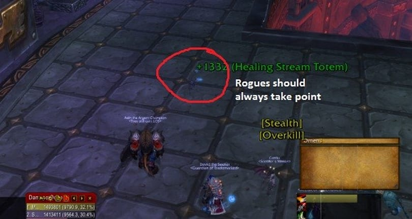 Encrypted Text: Troubleshooting rogue DPS