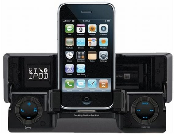Dual Electronics XML8110 in-dash iPhone dock announced