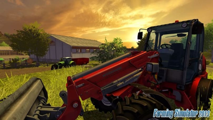 Farming Simulator devs go against the grain