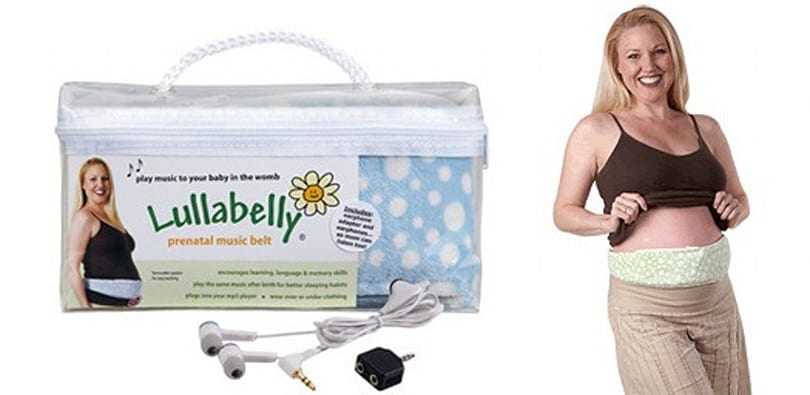Lullabelly prenatal music belt rocks the cradle of love
