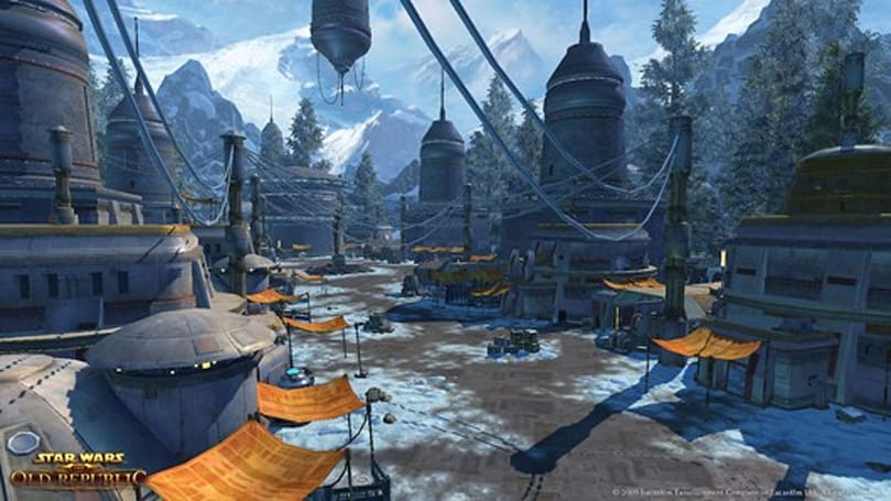SWTOR Alderaan warzone playable at Gamescom