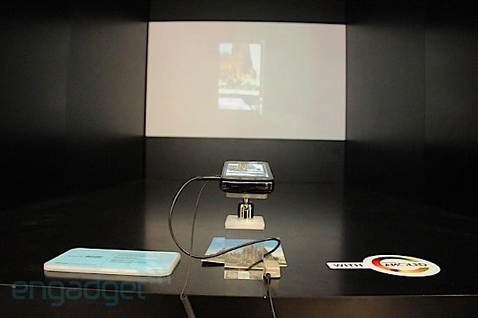 Samsung Galaxy Beam projector smartphone helped to light up the lives of the Chilean miners