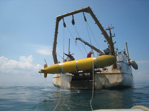 Robotic yellow submarine finds massive river under the sea, tons of other trippy stuff