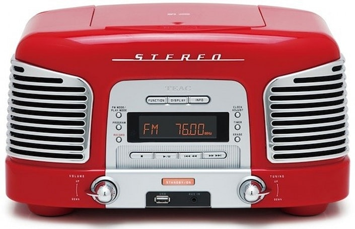 Teac goes retro (again) with CD burner-equipped SL-D920 radio