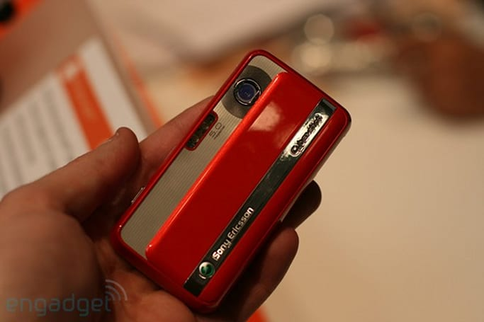Sony Ericsson C903 hands-on