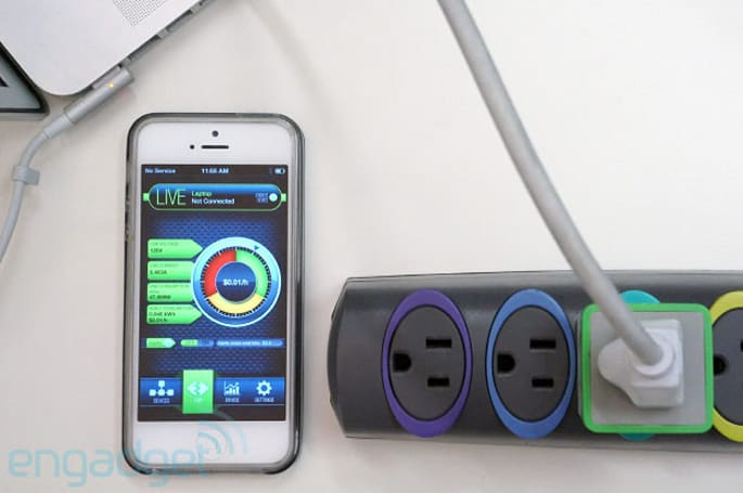 MeterPlug Bluetooth power monitor tracks usage, sends stats to your smartphone (hands-on video)