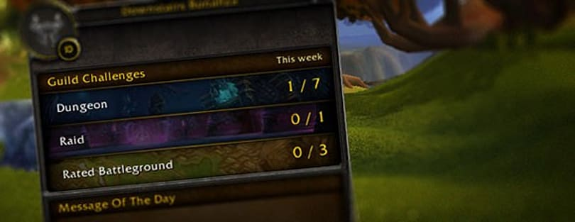 Patch 4.1: Blizzard explains upcoming guild challenges