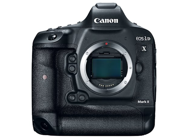 EOS-1D X Mark II: Canon's flagship DSLR goes 4K