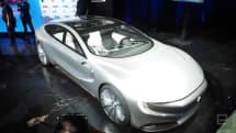 樂視的 LeSEE Pro 升級版概念車動眼看