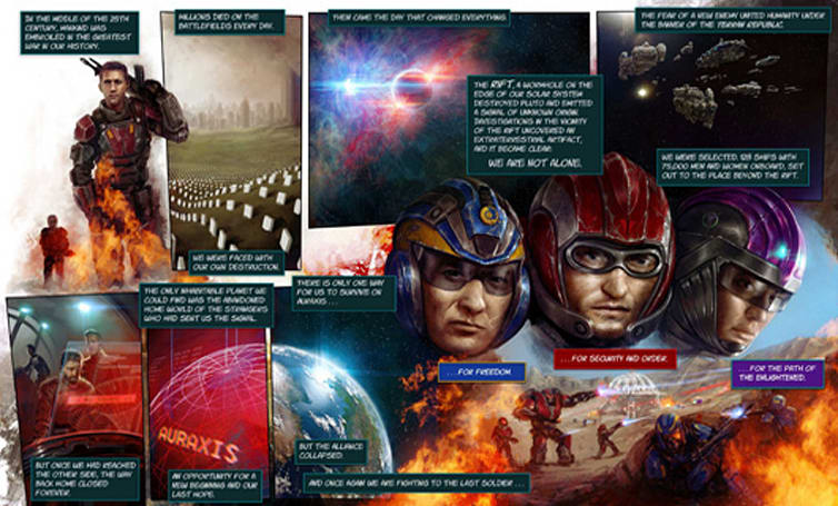 PlanetSide 2 anniversary contest will turn EU player stories into graphic novels