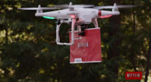 Netflix mocks Amazon Prime Air with hilarious 'Drone 2 Home' video