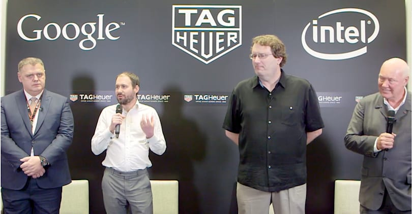 Tag Heuer will make the first 'luxury' Android Wear watch