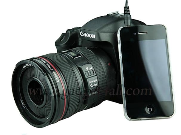 The Canon DSLR / MP3 player / speaker is both more and less than it seems (but mostly less)