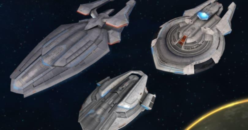 Star Trek Online details the art of the new Intelligence ships