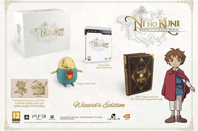 Ni no Kuni Wizard's Edition oversold, some orders being canceled