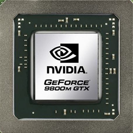 NVIDIA's GeForce 9700M / 9800M laptop GPUs get quasi-official