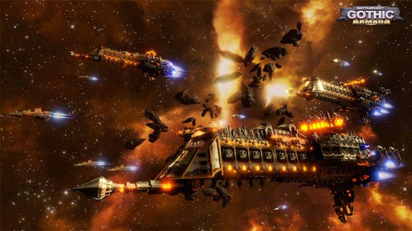 Warhammer 40K RTS Battlefleet Gothic: Armada announced