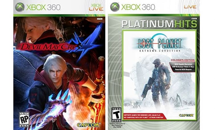 DMC4 and Lost Planet now Games on Demand