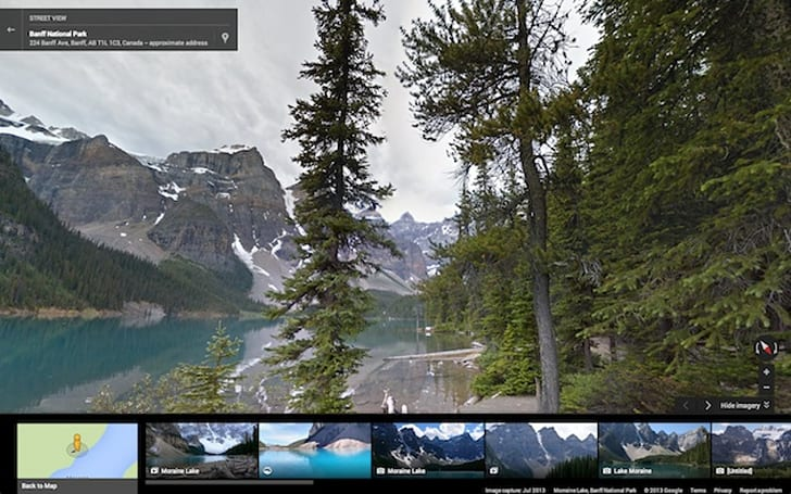 Street View update maps North America's biggest parks and monuments