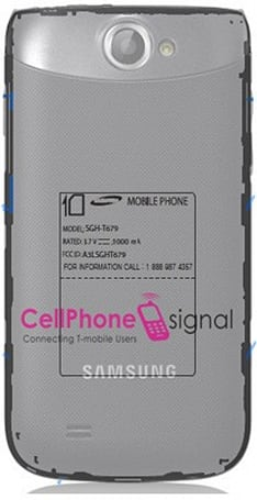 Is Samsung's T679 a T-Mobile bound Galaxy W?