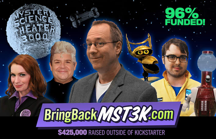 'MST3K' is the biggest crowdfunded video project to date
