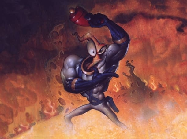 Earthworm Jim swings onto Virtual Console