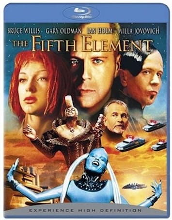 Remastered Fifth Element Blu-ray disc finally shines