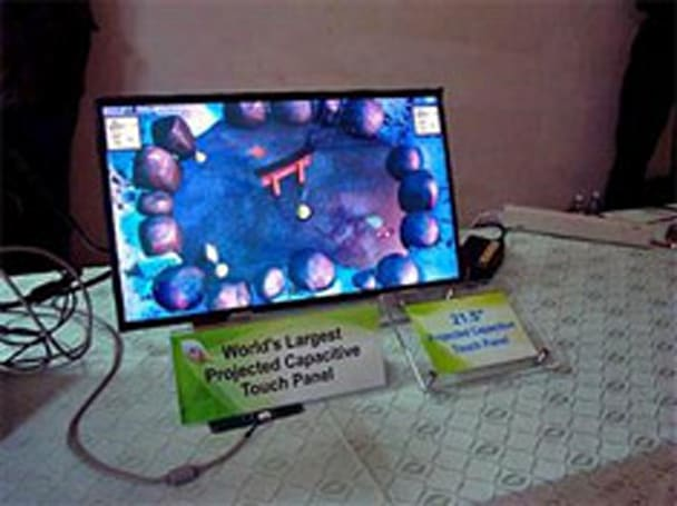 Chunghwa Picture Tubes churns out 21.5-inch capacitive touch panel