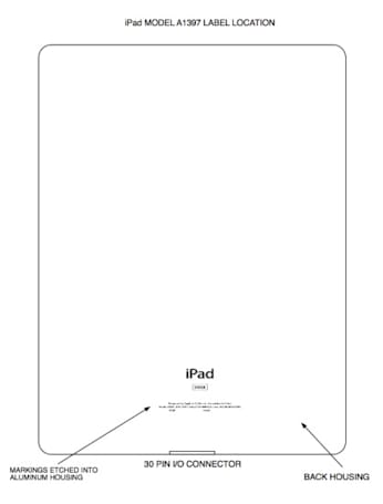 iPad 2 arrives at the FCC