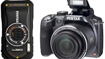 Pentax makes all-weather Optio W90 and superzoom X90 official