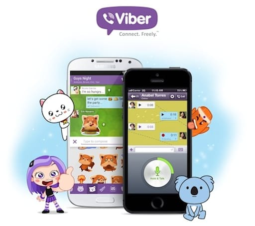 Viber brings push-to-talk features to iPhone and Android in version 4.0