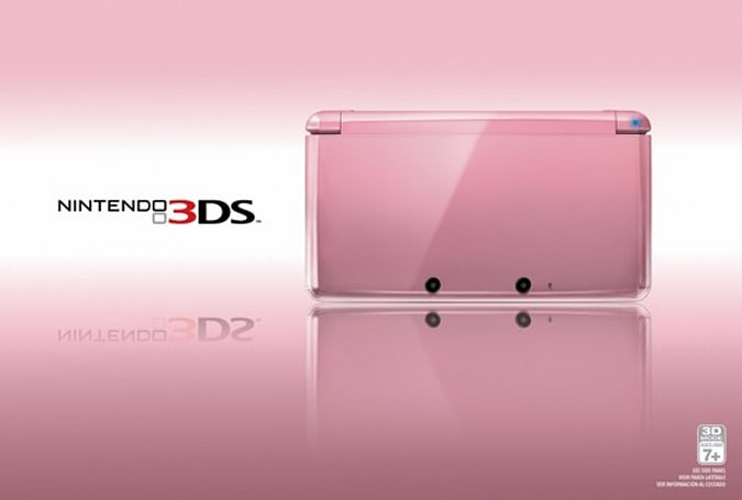Start a meaningful relationship with a Pearl Pink 3DS Feb. 10