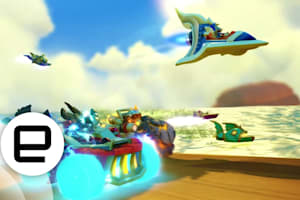 Engadget Playdate: Racing Into Action with 'Skylanders Superchargers'