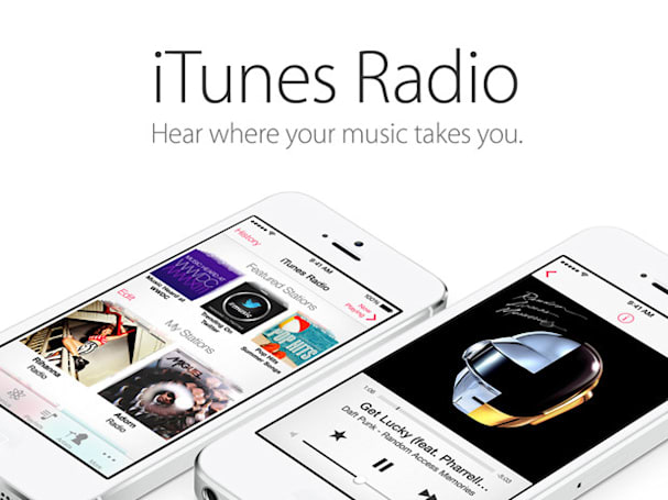 Big names -- McDonald's, Pepsi, Nissan, Proctor & Gamble -- sign on for iTunes Radio ads