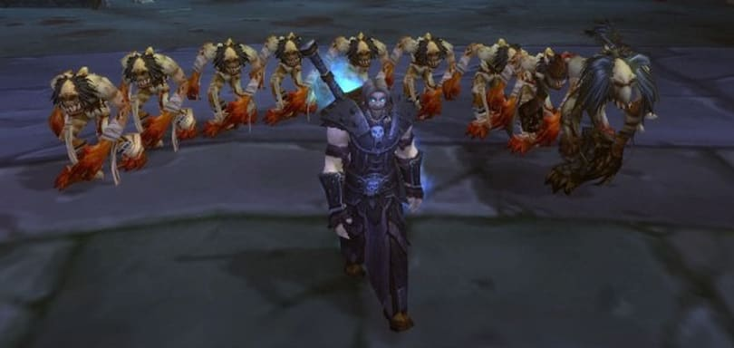 70,000 Death Knights slaughtered in Great Server Downtime of 2009