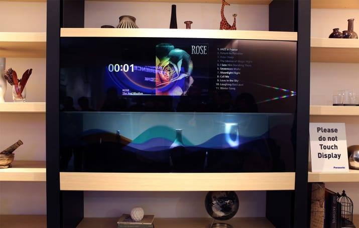 Say hello to Panasonic's invisible TV