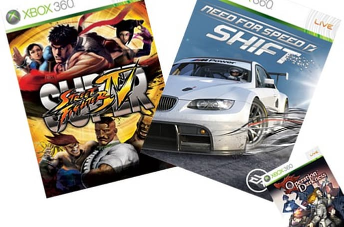 Super Street Fighter 4, NFS Shift now on XBL Games on Demand