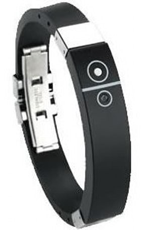 The vibrating Bluetooth bracelet