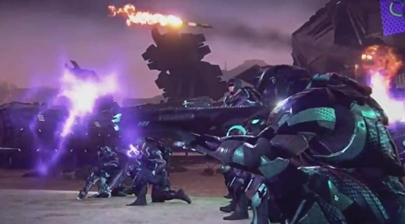E3 2012: PlanetSide 2 trailer pulls you in three directions