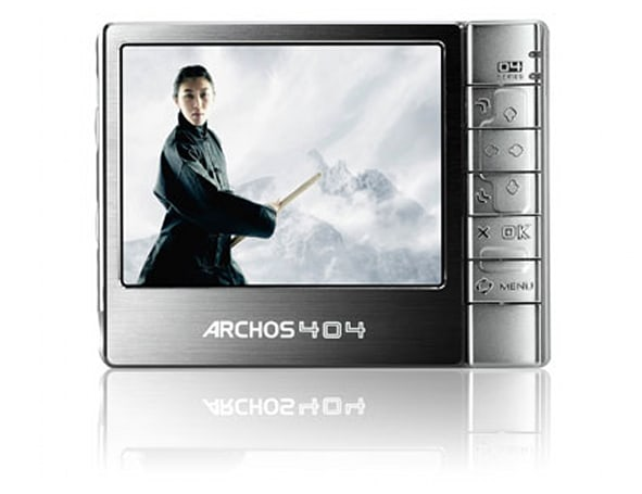 Archos 404 PMP reviewed