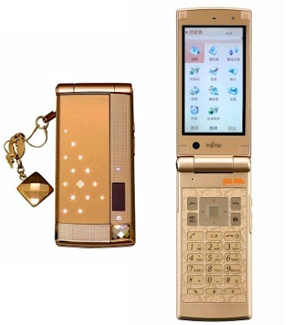 Fujitsu releases F-022 flip phone for women who like to smell good