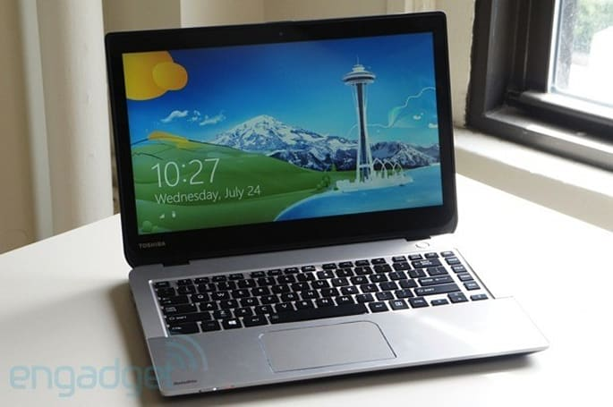 Toshiba outs Satellite E45t / E55 mid-range laptops, Intel models have Dragon Assistant pre-loaded